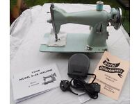 Fully Serviced/Working Jones D68 with Brand New Motor Sewing Machine Heavy Duty