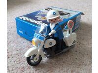 Playmobil Police Motorbike