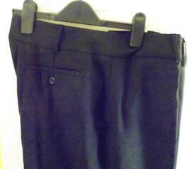 Alexandra Cadenza Ladies Workwear Black Trousers. Size: 16.