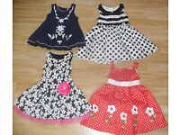 Beautiful Bundle of Girls Party Dresses Age 4