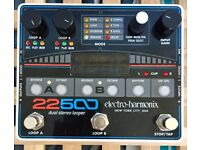Electro-Harmonix 22500 Dual-Channel Stereo Looper Pedal