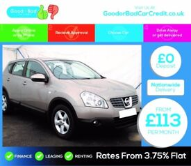 Nissan Qashqai 2.0 dCi Acenta 4WD 5dr / finance this car from £113 per month