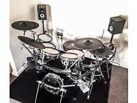 Roland TD-30 electric drums & speakers