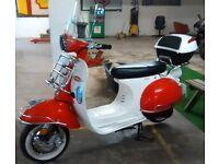 AJS Modena 125 & 50cc Retro Scooters