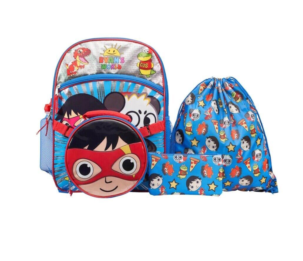 ryan s world 5 piece backpack set