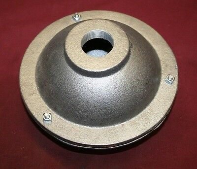 5 Inch Cast Iron Ball Muffler Gas Engine Motor Flywheel  Hit & Miss 3/4