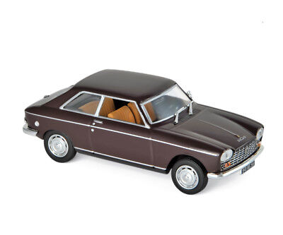 Peugeot 204 Coupe 1967 maroon 1:43 Norev 472403 neu & OVP  Maroon Coupe