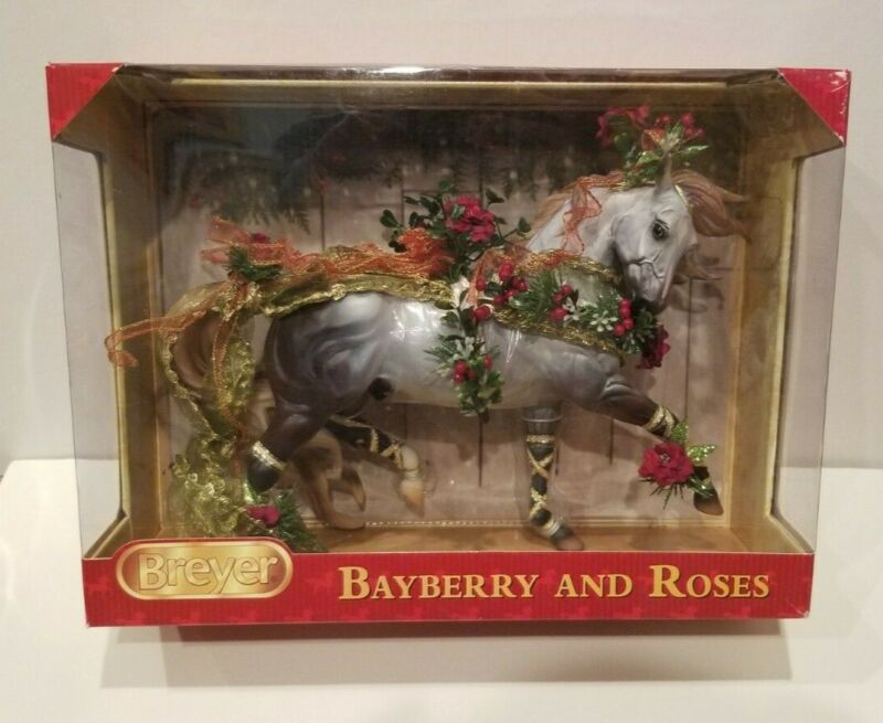"""Breyer Horse No. 700117 """"Bayberry and Roses"""" - New, Minor Box Damage"""
