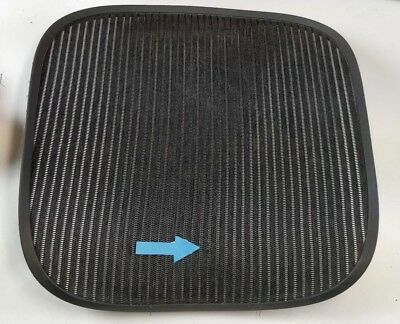 Herman Miller Aeron Chair Seat Mesh Black Pellicle W Blemish Size B Medium 6