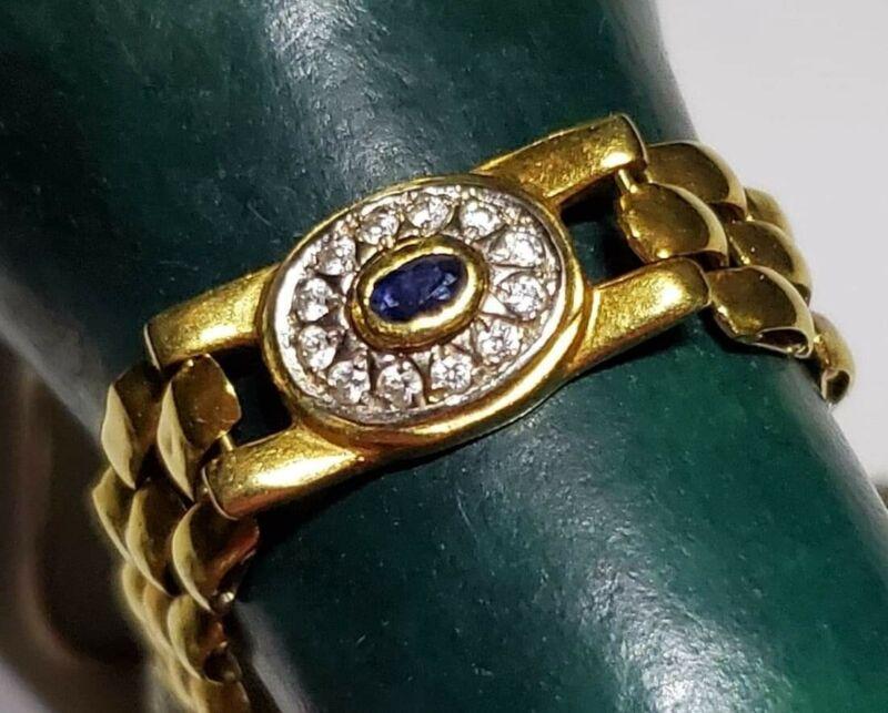 18k itatalian gold antique bracelet