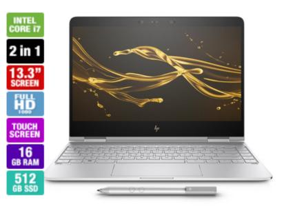 HP Spectre x360 13-AC041TU Touchscreen Laptop (512GB SSD)  Model: