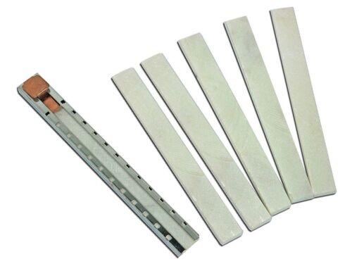 "WYPO Flat Soapstone Holder With 5 Soapstone Markers, 5"" x 1/2"" x 3/16"", SP400-1"