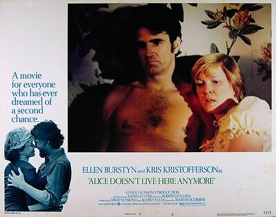 ALICE DOESN'T LIVE HERE ANYMORE 1974 Ellen Burstyn, Billy Green Bush 3 LOBBIES