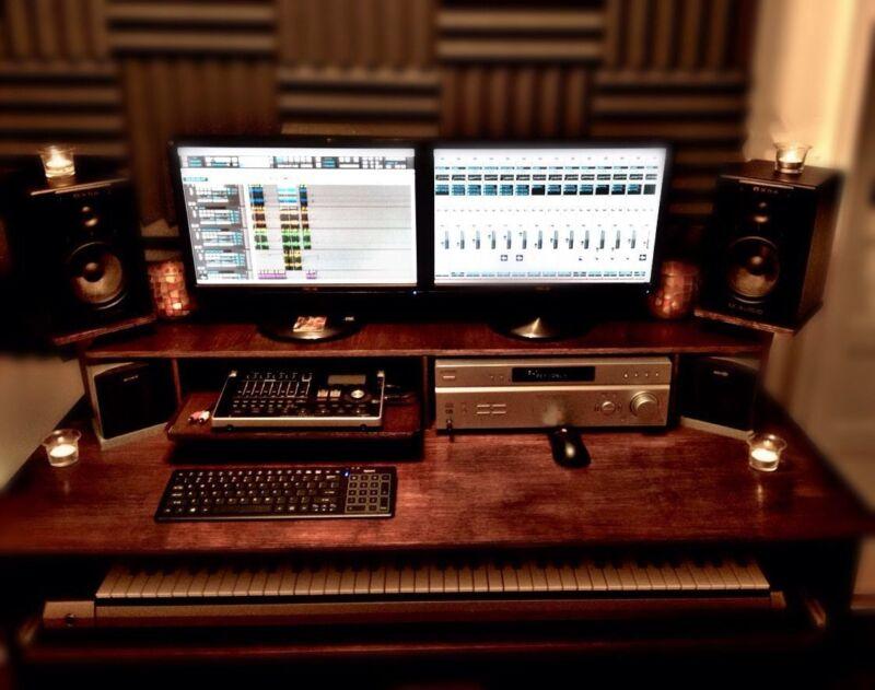 Studio Desk Plans (Plans To Build Only)