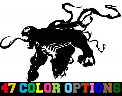 Vinyl Decal Truck Car Sticker Laptop - Marvel Spider-Man Villian Venom (Spider Man 3 Laptop)