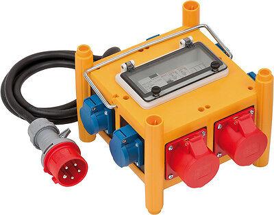 Brennenstuhl Kompakter Stromverteiler BSV 3 - FI/16 IP44 230V/ 400V 16 A