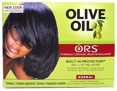 Organic Root Stimulator Olive Oil No Lye Relaxer Kit, Normal