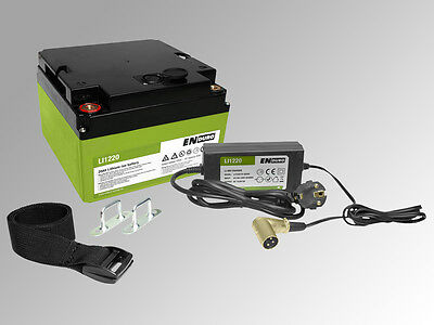 Power Pack Rangierhilfe Akku 12V Wohnwagen Lithium-Tech… |