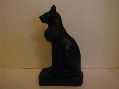 """Bastet Statue Egyptian Cat Goddess Made in Egypt 7"""""""