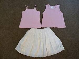 Girls: Various; tops x 2, & skirt. 5-6yrs. Good Condn. Claremont Nedlands Area Preview