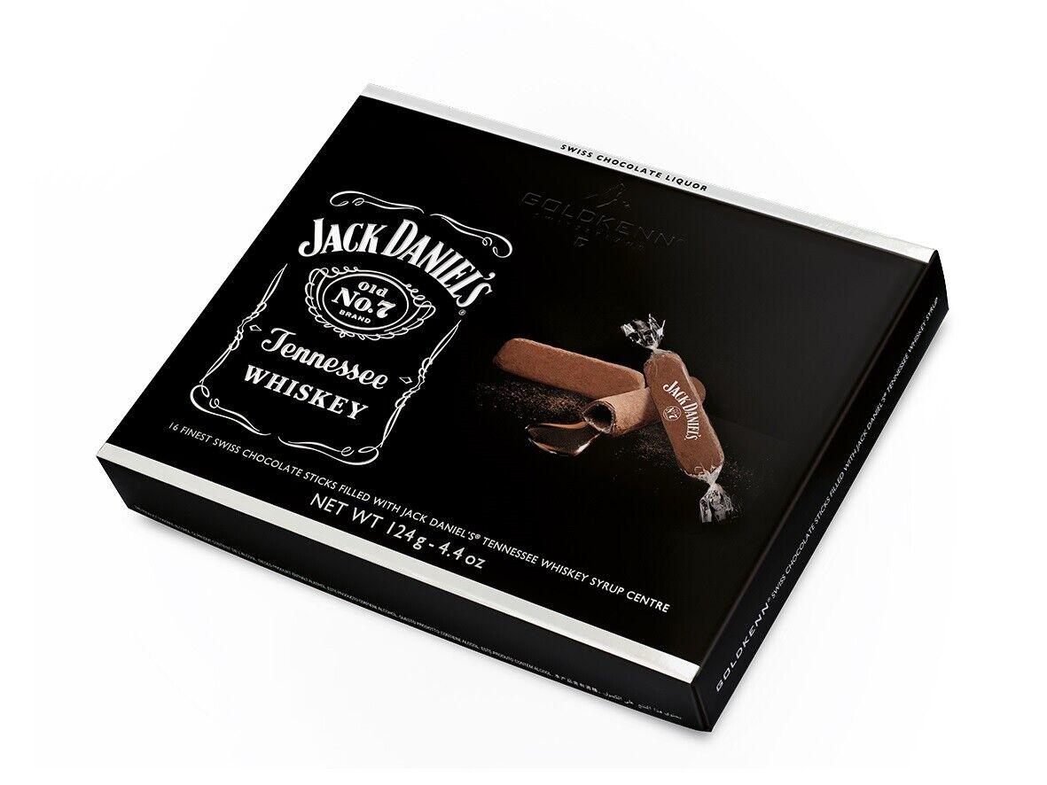 Jack Daniels Tennessee Whisky Pralinen Schokolade Sticks 124 g