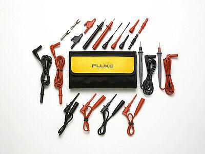 Electronic Test Lead Set - Fluke TL81A Deluxe Electronic Test Lead Set, Pouch + Leads/Probes