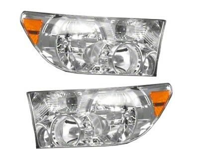 Set Of Front Left & Right Lens & Housing Genuine for Toyota Sequoia Tundra
