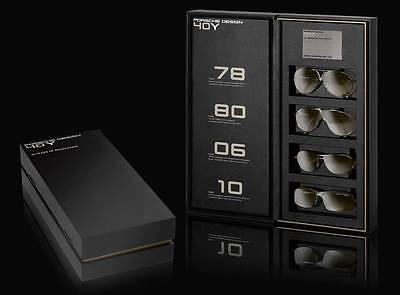 Porsche Design Limited Edition 4 SUNGLASSES Collector Boxes for 40th Anniversary