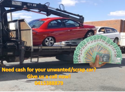 We pay top cash for your unwanted/scrap car.$$$$ Perth Perth City Area Preview