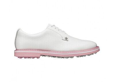 G/FORE Gallivanter Spikeless Golf Shoes White Blossom Pink SZ ( SM171522GR )