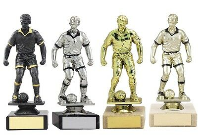 Football Trophies 6 inch Cheap Male Football Figure Figures Award FREE Engraving