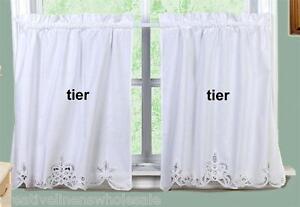 Battenburg lace kitchen curtains Curtains & Drapes   Bizrate
