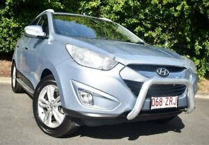 2012 Hyundai ix35 LM2 Elite AWD Blue 6 Speed Sports Automatic Wagon