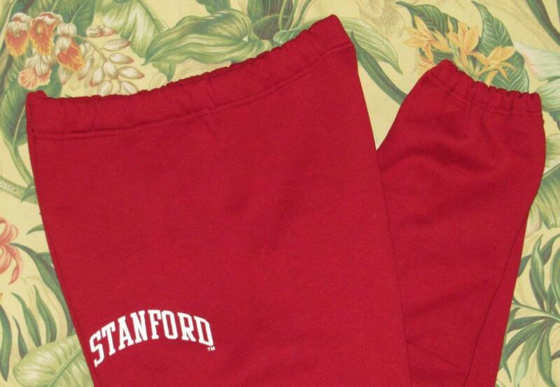 Vtg RUSSELL ATHLETIC Stanford University Sweatpants Made In USA Large L