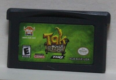 Tak And The Power Of Juju Gameboy Advance Gba Nick Games Thq Nintendo