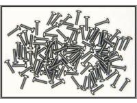 Dingler 100 Vollmuttern  M1,7 DIN 934 Messing