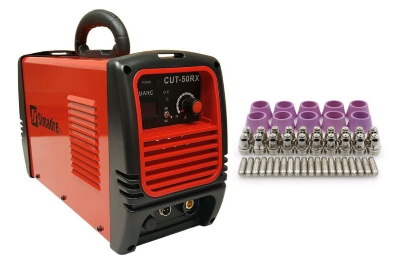 """PLASMA CUTTER 50 CONS SIMADRE 50A 50RX 110/220V EASY 1/2"""" CLEAN CUT POWER TORCH"""