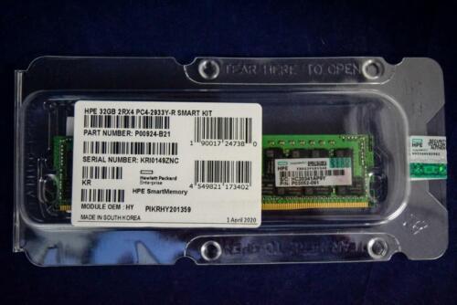 P03052-091 HPE 32GB 2Rx4 PC4-2933Y-R DDR4 Server Memory P00924-B21 P06189-001