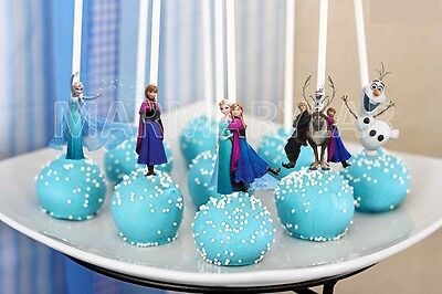 Frozen Cake Pops Toppers, Cupcakes Toppers and Cake Topper  - - Frozen Cupcake Topper