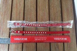 Red pet collar(x.smal) Carlisle Victoria Park Area Preview