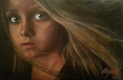 """""""Eva"""" - Original vom Kunstmaler Luguri – Ölbild, Ölgemälde in Galeriequalität!"""