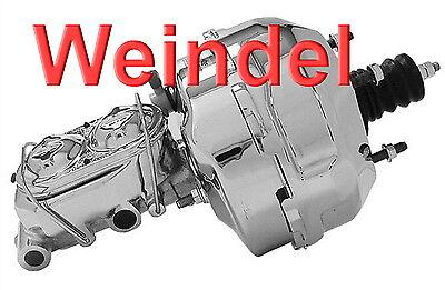 Corvette C3 Hauptbremszylinder & Bremskraftverstärker Chrom Bj: 1968-1982
