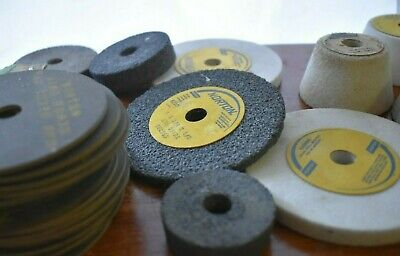Lot Of Norton Grinding Wheels 32 Pieces 12 Whole