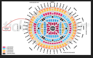 Adele l Melbourne l A Reserve l Ticket l Sat 18th Mar 2017 Melbourne CBD Melbourne City Preview