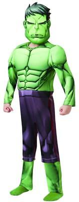 Hulk Avengers Assemble Deluxe MARVEL Kostüm Superheld Kinder Fasching (Kinder Hulk Avengers Kostüme)