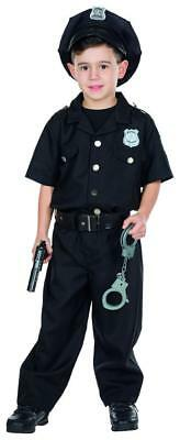 Police Officer Cop Kostüm Kinder Karneval Polizist Fasching Polizei