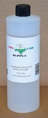 Polyethylene Glycol 400 Nf-fccep-usp 16 Fl.oz. - Food Gradeconcentrates