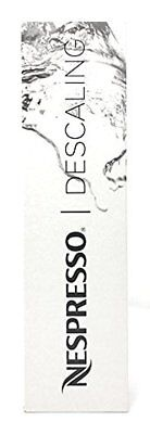 Nespresso Descaling Solution Kit - All Models - 2x 100ml Packets