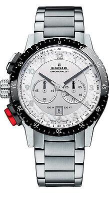 Edox Chronorally Mens Watch 10305 3NRM AN