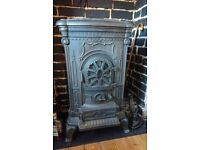 NON Working Cast Iron Burning Stove